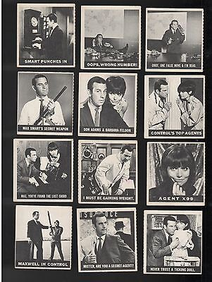 1966 Topps Get Smart Agent 99 Maxwell Smart Vintage 22 Trading Card Lot Nice
