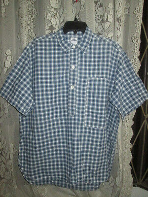 Vintage Post O Alls Casual Work Wear Shirt Original Made In Usa