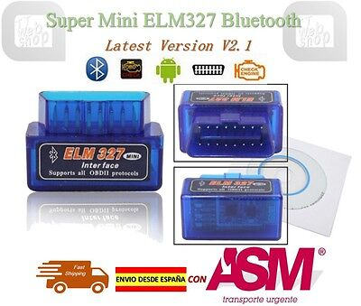 ELM327 Auto Car Diagnostic Scanner OBDII Bluetooth V2.1 OBD2 for Andriod ELM 327