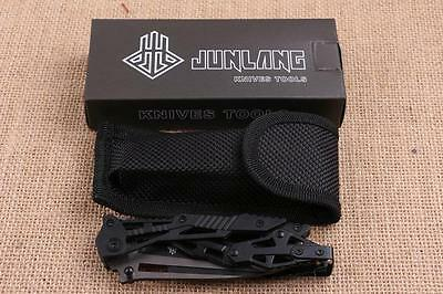 Transformers Tactical Survival Folding Blade Knife Camping Stainless Steel Handl
