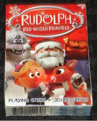Rudolph The Red-Nosed Reindeer Playing Card Deck: 52-397