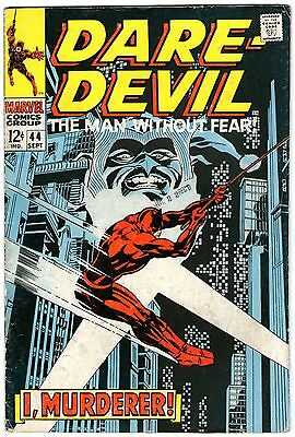 Daredevil #44. Vol1. Marvel Sep 1968. Lee, Colan. VG