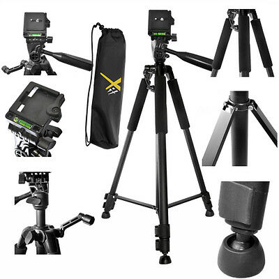 "60"" Pro Lightweight Tripod With Quick Release For Nikon Canon Eos Rebel Sony"