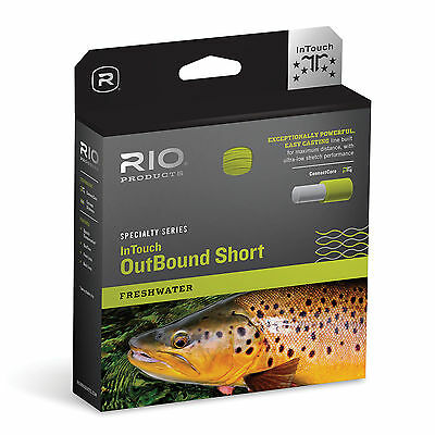 RIO InTouch Outbound Short Fresh Water Weight Forward Fly Fishing Lines