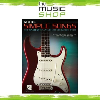 New More Simple Songs: The Easiest Easy Guitar Songbook Ever Music Book