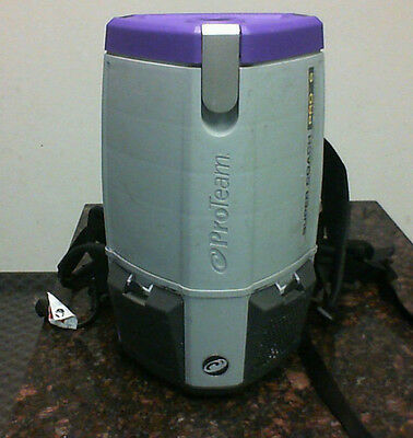 Pro Team 1073120 Proteam Super Coach Pro 6 HEPA Level Filtration Backpack Vacuum