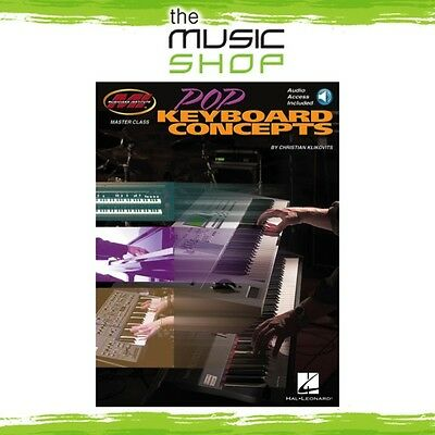 New Pop Keyboard Concepts Masterclass Piano & Keyboard Tuition Book with OLA