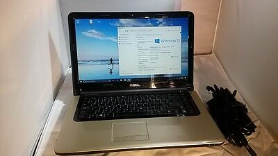 "Dell Studio 1569 Laptop 15.6"" HD 2.40GHz Intel Core i5 4GB 500GB Win10 WebCam"