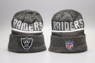 Oakland Raiders NFL Team Beanie 2018