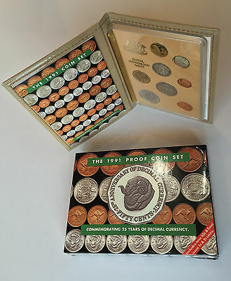 Royal Australian Mint 1991 Eight Coin Proof Set - Free Postage