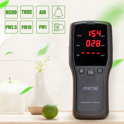 Formaldehyde Detector HCHO TVOC PM2.5 Air Quality Pollution Tester Upgraded