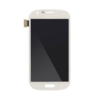 New Samsung Galaxy Express LCD Digitizer Replacement with Frame White Display To