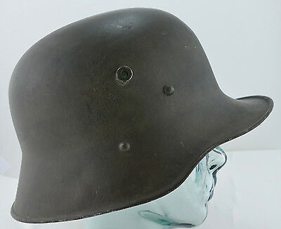Austrian ORIGINAL WW1 WWI M1917 Helmet, Excellent Condition, with Liner