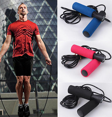 HOT  3m Fitness Aerobic Exercise Adjustable Boxing Skipping Jump Sport Rope
