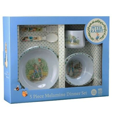Peter Rabbit Classic 5 Piece Dinner Set