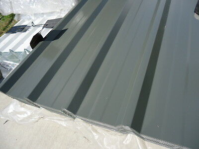 Roofing Iron, (New) Woodland Grey Trim Dek 1.8 M Mtr