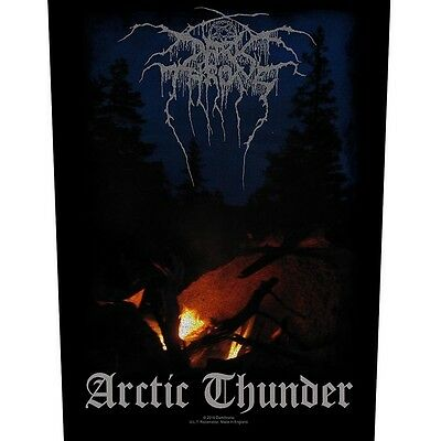 Darkthrone Arctic Thunder Back Patch Official Backpatch Black Metal Dark Throne