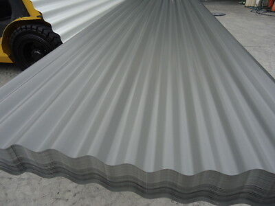 Roofing Iron, (New) Woodland Grey Corro 6.1 Mtr $8.95 L/m