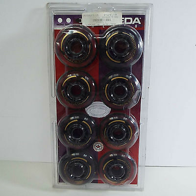 New Labeda Wheels Inline Roller Hockey Lazer 82A 80Mm Clear 8-Pack (T24)