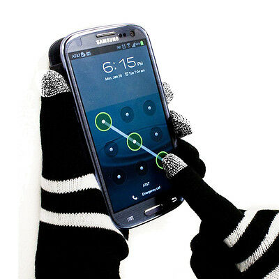 [10pack]Magic Gloves Finger Touch Screen Knitted Winter Warm Smart Phone Mittens