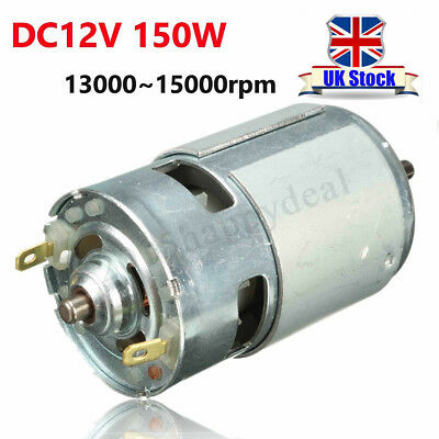 DC12V-24V 150W 13000-15000rpm 775 Motor Micro High Speed Power 5mm Shaft Tools