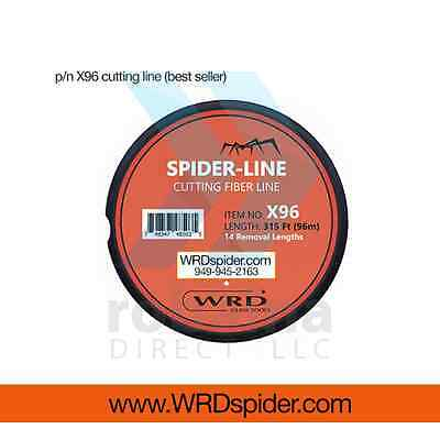 WRDspider-com X96 cutting line for glass windshield removal