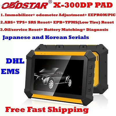 OBDSTAR X300 DP Android Tablet Full Package OBDII Scanner EPB+ Oil/Service Reset