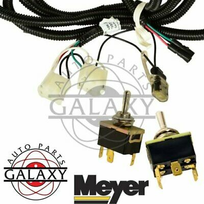 Meyer Lift & Angle Switches for E47 Plows w/ Toggle Switch Harness