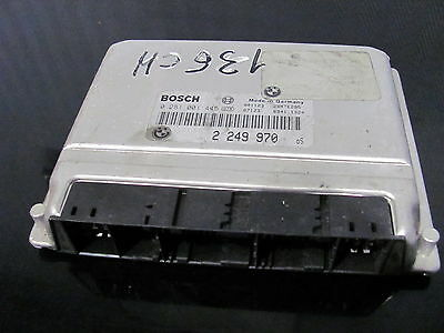 Calculateur ECU BOSCH 0281001445  DME2249970  BMW E46 320d