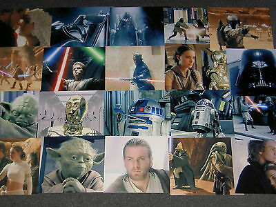 170 Different 10 X 8 Photo's Of Star Wars 1-3.u Pick 201-370 Only £2.50 Each!