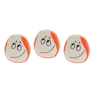 3pcs PU Leather w/ Sand Confused Look Juggling Balls Beginners Magic Prop