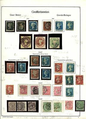 Great Britain important collection Queen Victoria-Edward VII