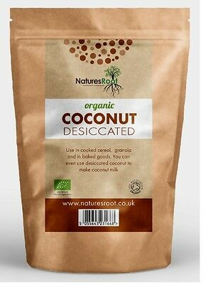 Certified Organic Dessicated Coconut - High Quality For Baking Cooking ALL SIZES