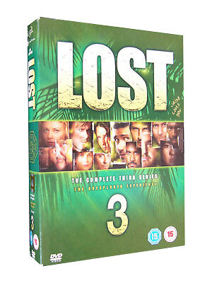 Lost - Series 3 - Complete (DVD, 2007, 6-Disc Set, Box Set)