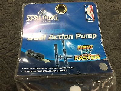 Spalding Power Dual Action Pump NEW IN PACKAGE