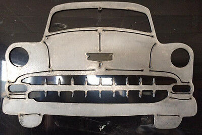 54 CHEVY CAR Metal Wall Hanging