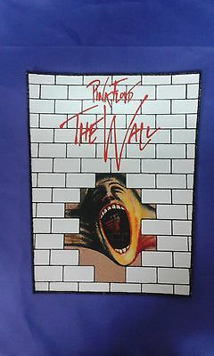 Pink Floyd The Wall Large Sew On Printed Back Patch Uriah Heep Dio Rainbow Cd Lp