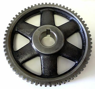 "Spur Gear 5-5/8"" OD x 7/8"" Wide x 66 Teeth x 1/4"" Pitch x 1"" Bore x 1/4"" Keyway"