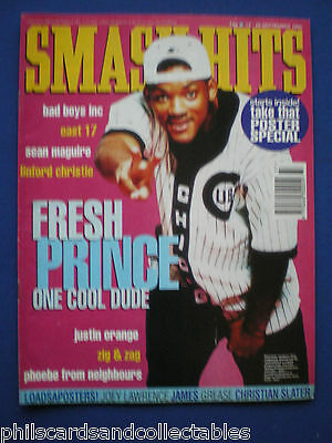 Smash Hits - 15th Sept 1993 - Will Smith, Bad Boys Inc., Take That, East 17