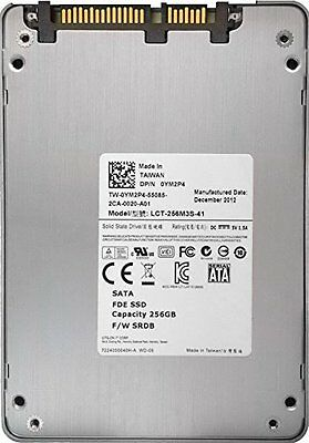 """Lite-On LiteOn LCS-256M3S  256GB 2.5"""" SATA 6Gbps Solid State Drive SSD Dell OEM"""