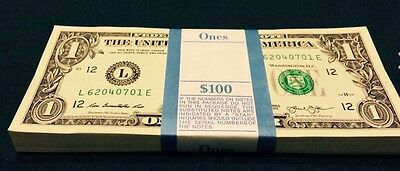 Brand New & Uncirculated Minted $1 (ONE) Dollar Single Bills..