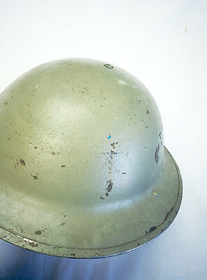 British Military MKII Tommy Headwear RO&CO Leeds WWII 39-43 Stamped No Strap