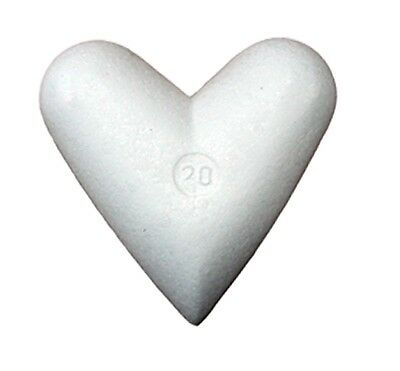 Styrofoam heart 10 Pcs Arrangement pad 25cm x 21cm Wedding Styrofoam heart