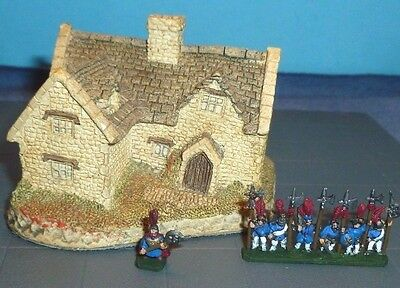 David Winter Cotswald Cottage - Warmaster 10mm Scale Miniature Terrain Vintage
