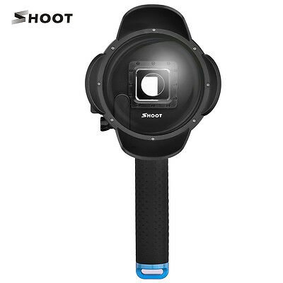 SHOOT 4'' Waterproof Diving Dome extra LCD support for Gopro Hero 4 V2.5 Mini
