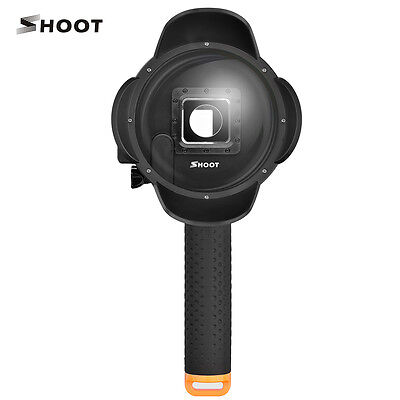 SHOOT 6 inch GoPro Dome Port with Lens hood for GoPro Hero 3+/4 V2.0