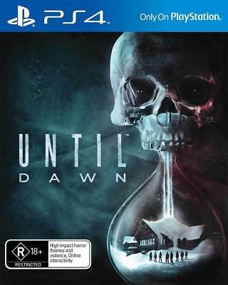 Until Dawn Playstation 4 (PS4) Game Brand New In Stock From Brisbane
