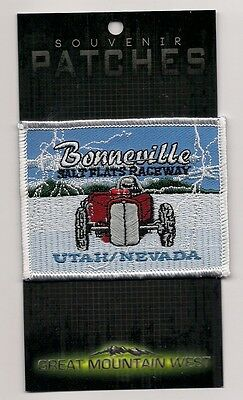 Souvenir Racing Patch - Bonneville Salt Flats Raceway, Utah/nevada