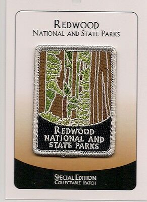 Redwood National And State Parks - Special Edition Souvenir Patch