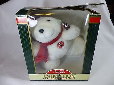 Coca-Cola Animation Collection Animated Christmas Polar Bear 1998 Collection